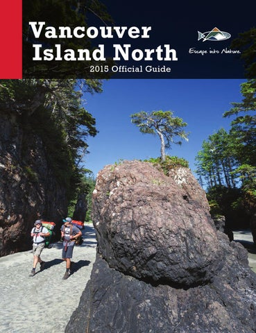 Vancouver Island North Tourism Guide 2015
