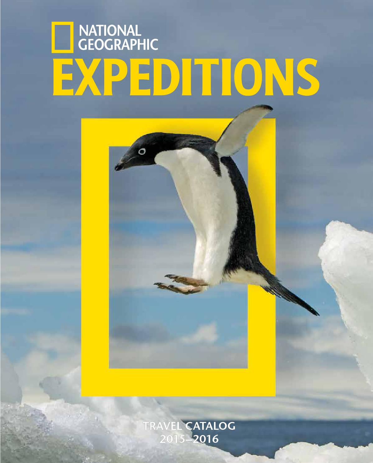 2015-2016 National Geographic Expeditions by National Geographic ...