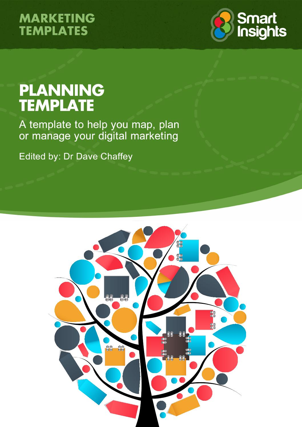 Race digital marketing plan template smart insights by Ya ...