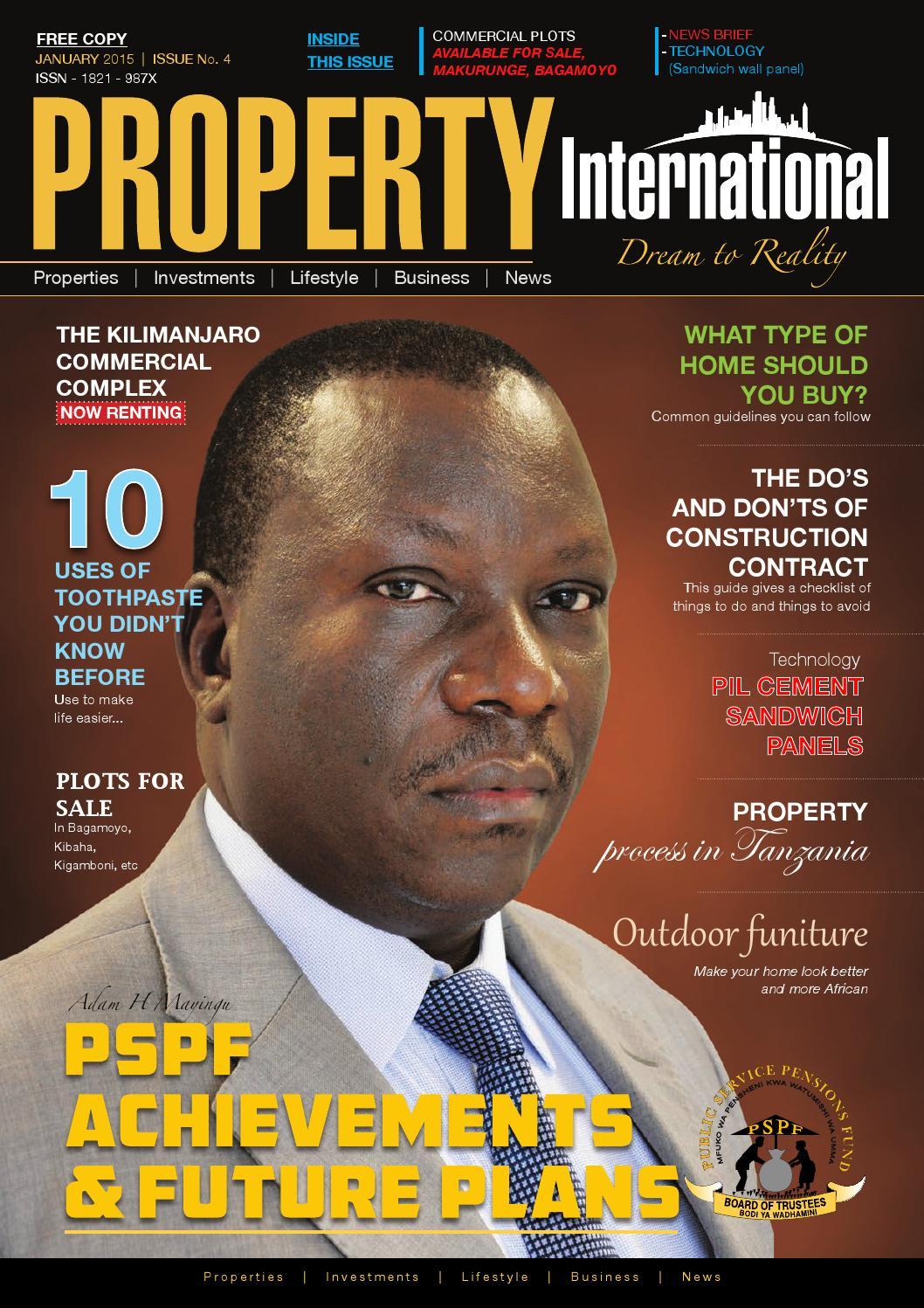Property International 004 Online Magazine By Property