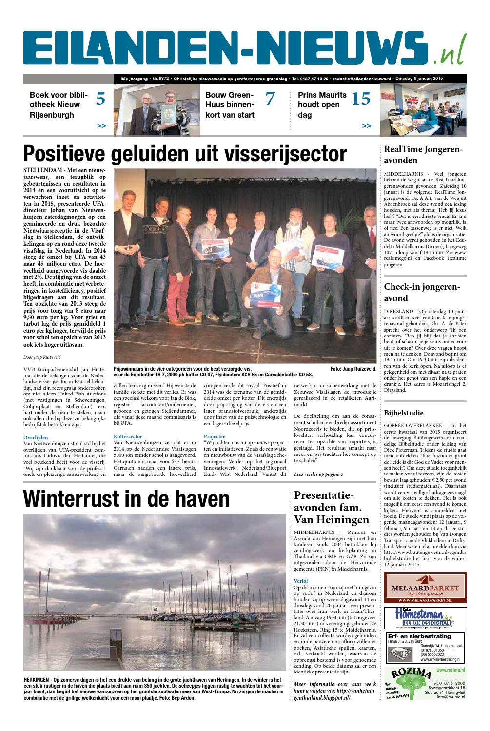 Eilanden Nieuws 6 Januari 2015 By Eilanden Nieuws Issuu