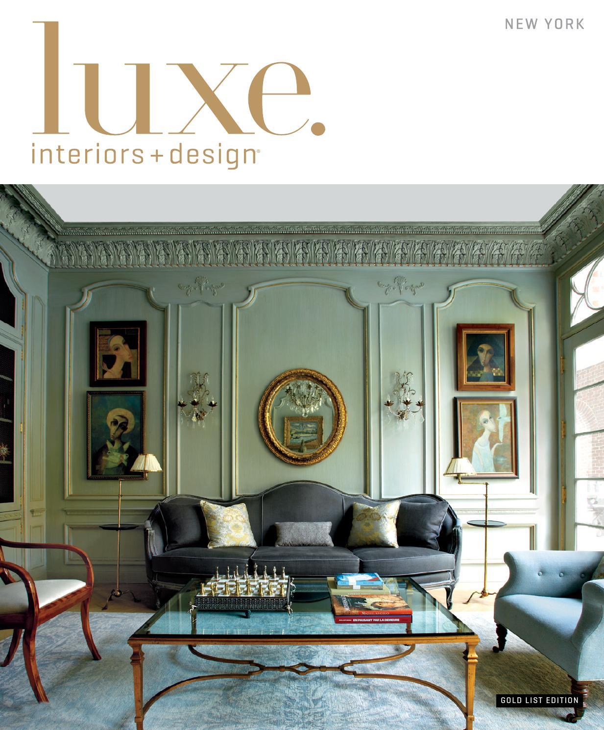 Luxe Magazine Winter 2015 New York By Sandow Media LLC