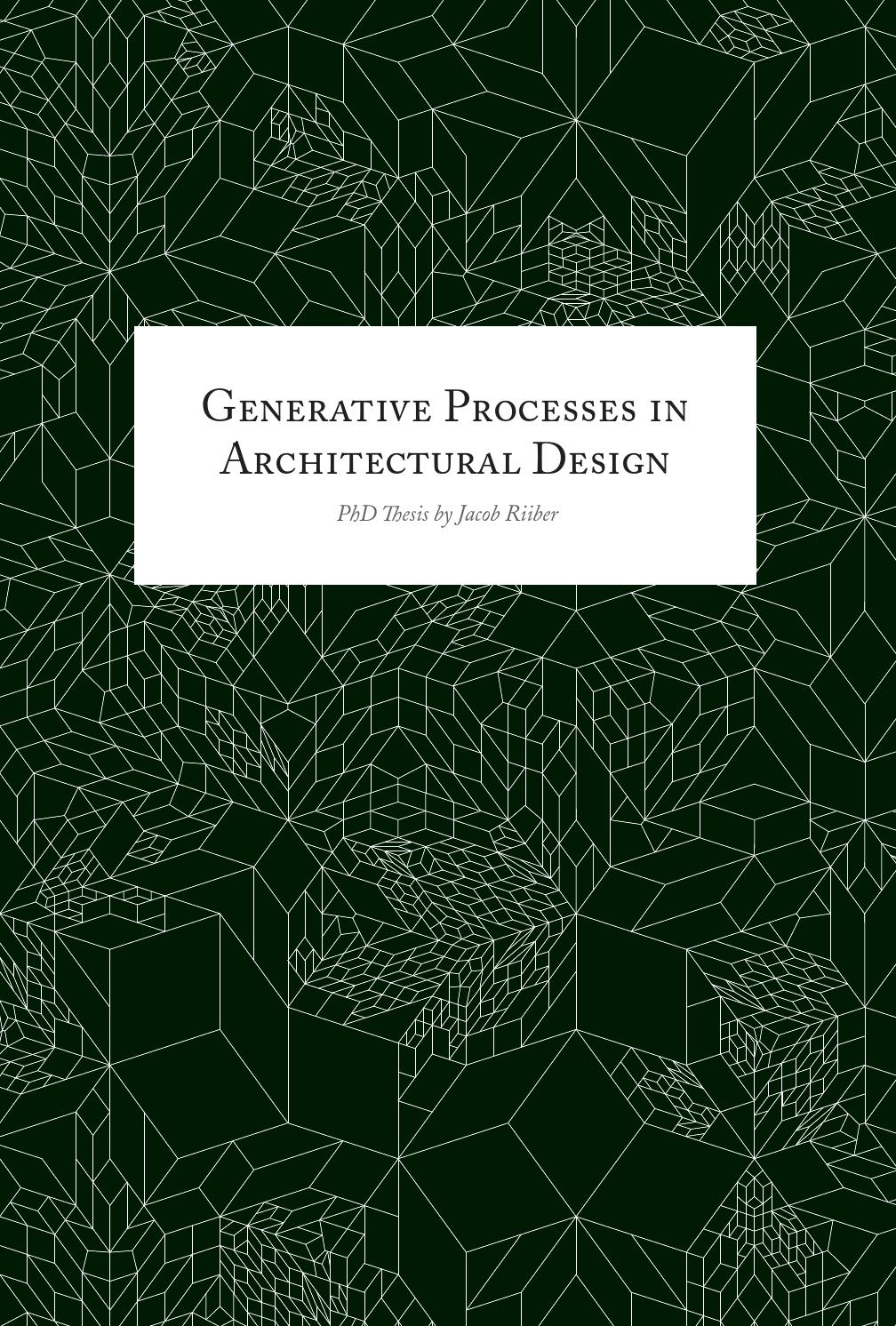 Phd thesis computer architecture