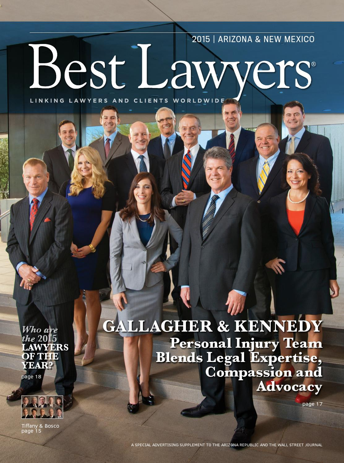 Personal Injury Lawyer Tucson >> Best Lawyers in Arizona & New Mexico 2015 by Best Lawyers - issuu