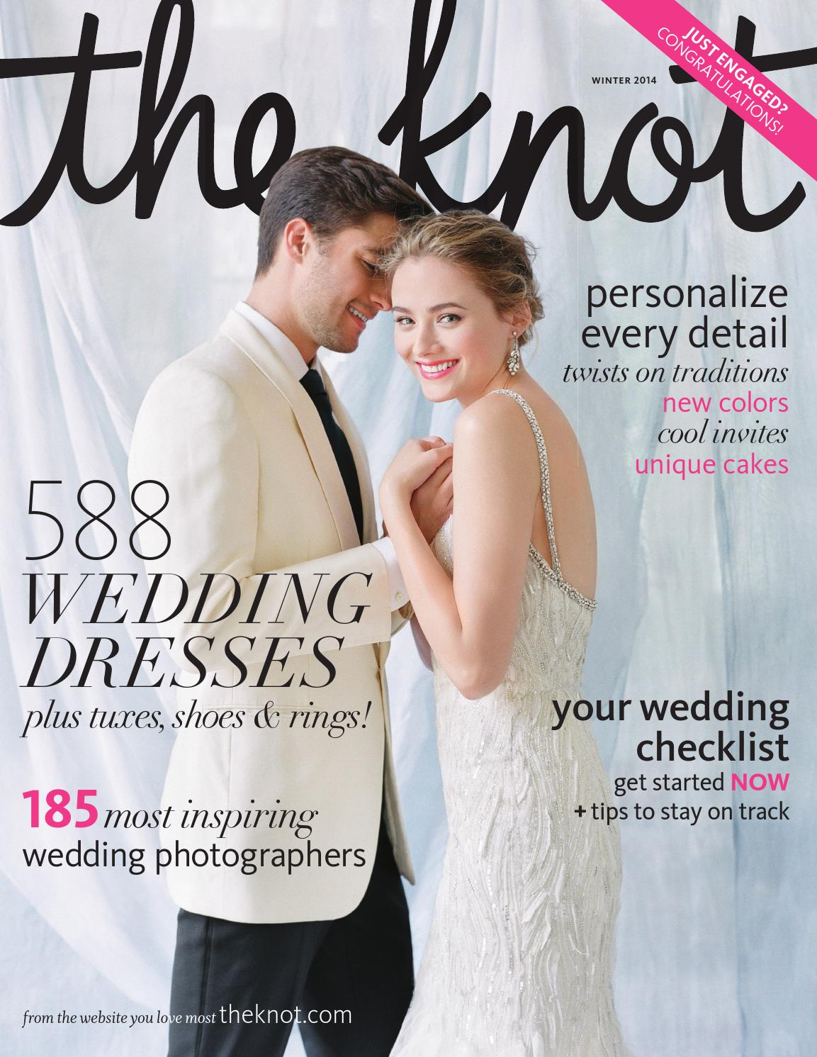 the knot winter 2014 by the knot issuu