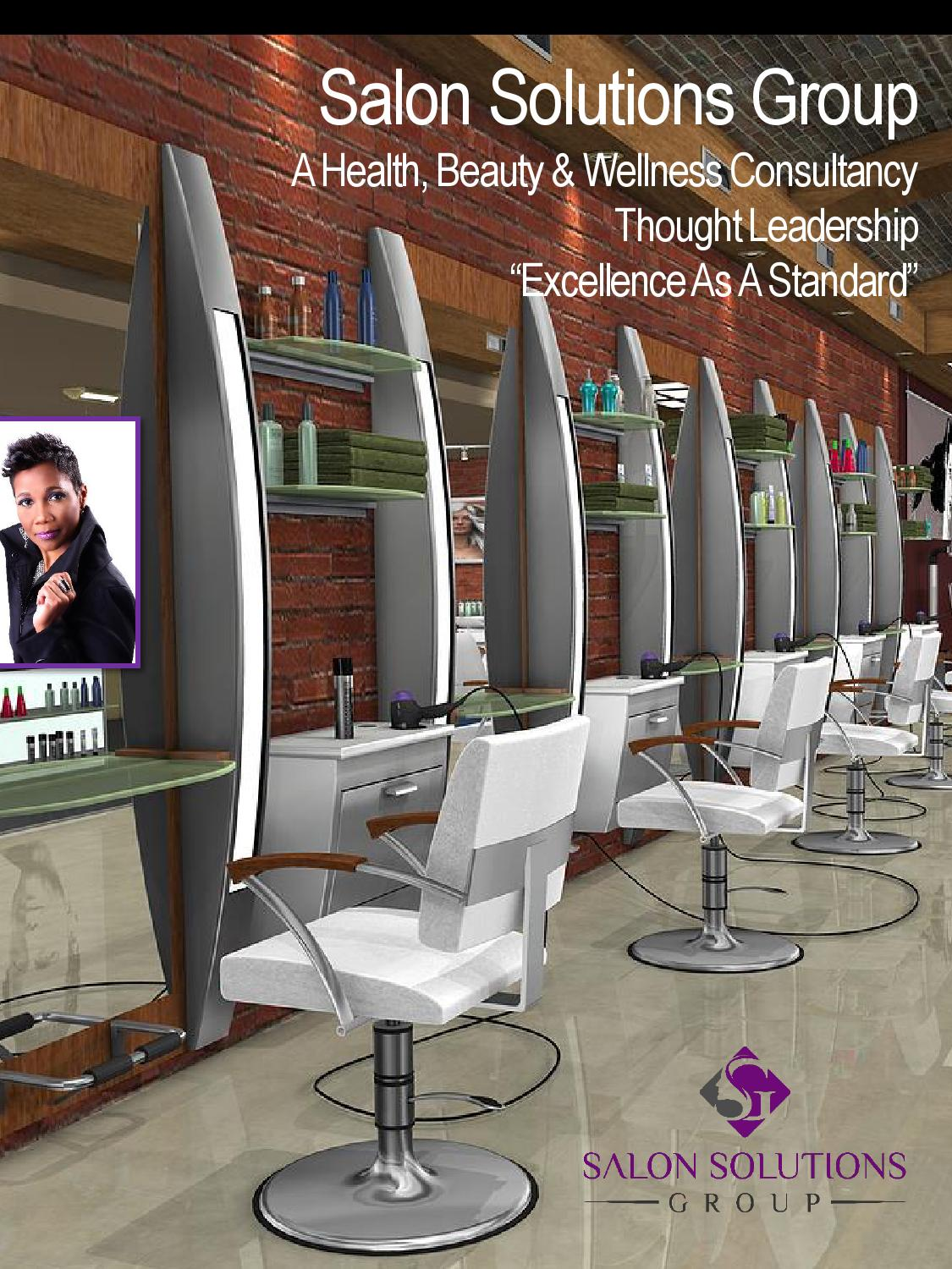 Carla m jones by salon solutions group issuu for Salon solutions