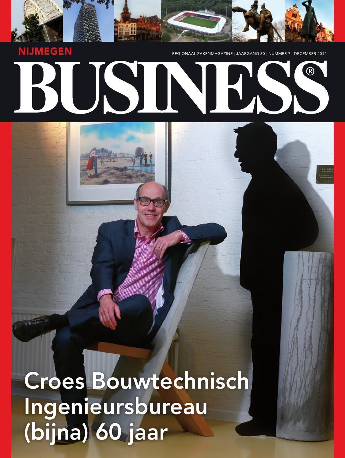 Nijmegen business 07   december 2014 by nijmegen business   issuu