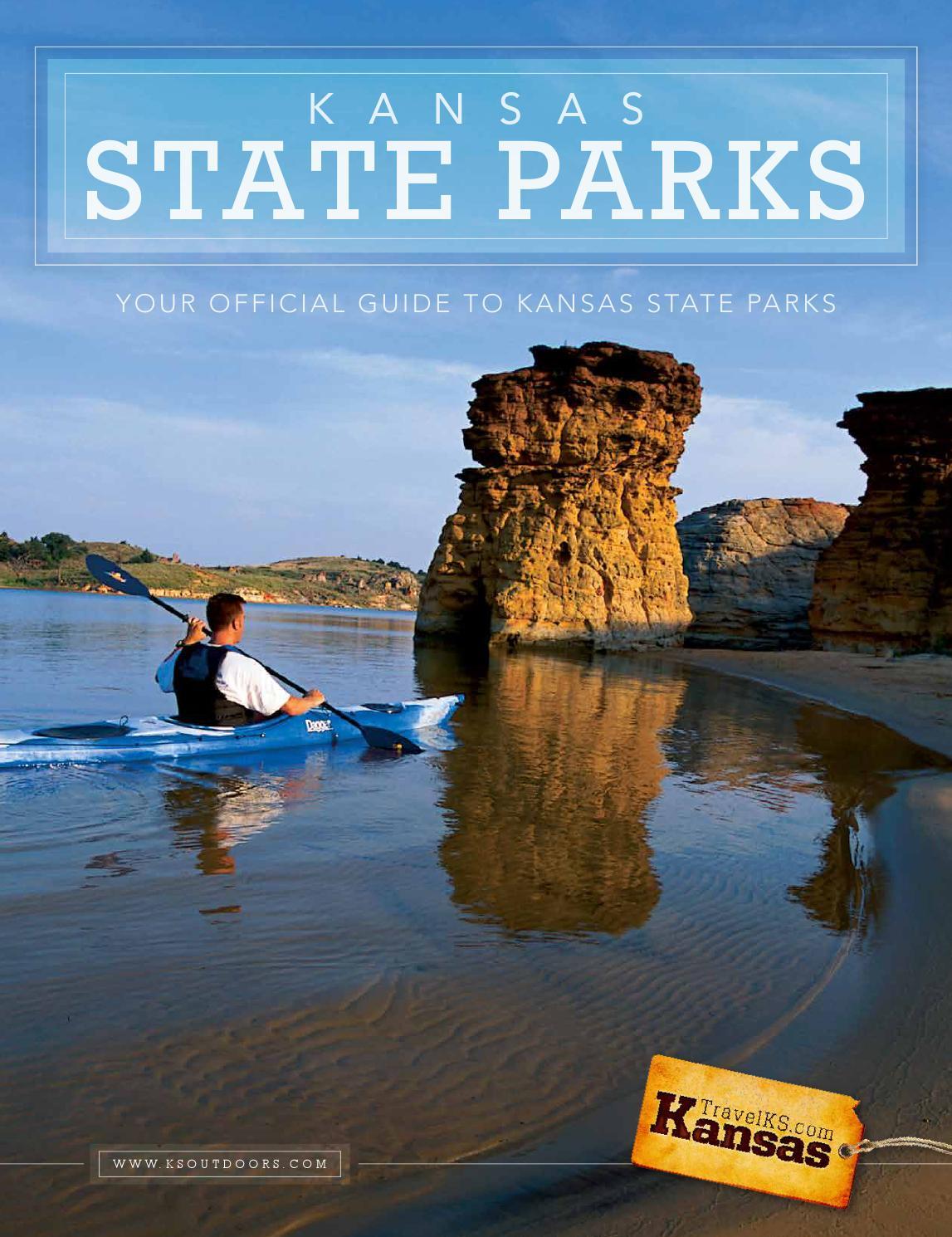 Kansas State Parks Guide By Kansas Department Of Wildlife