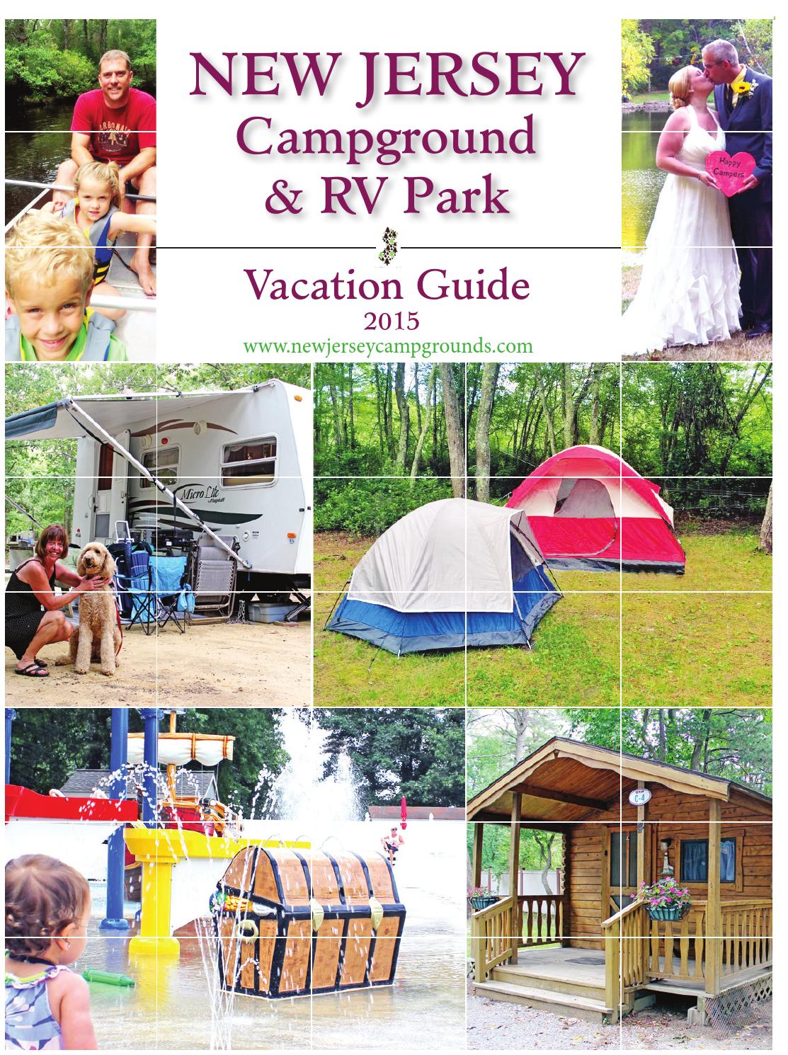 New Jersey Campground And Rv Parks By New Jersey