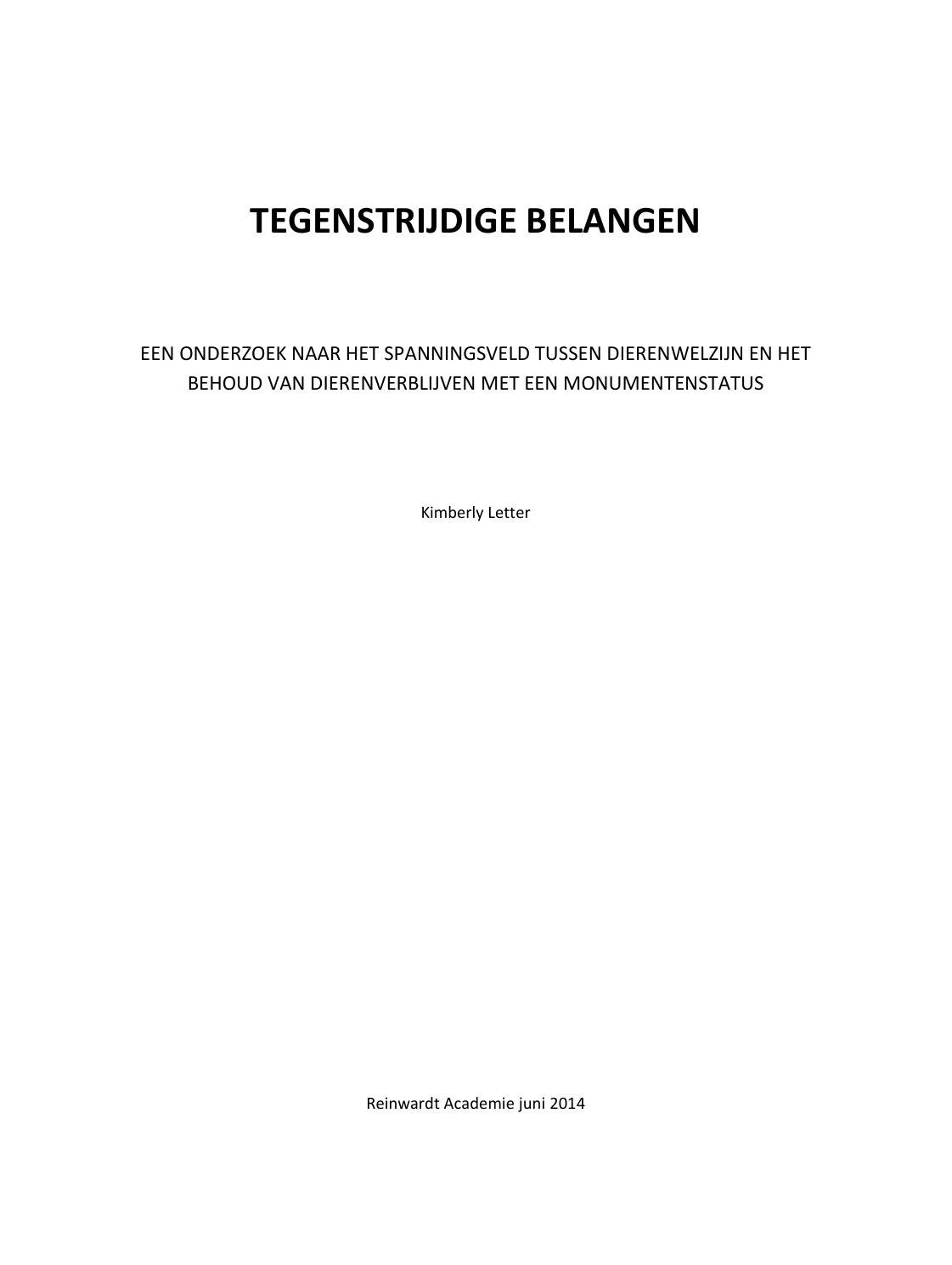 master thesis voorbeeld