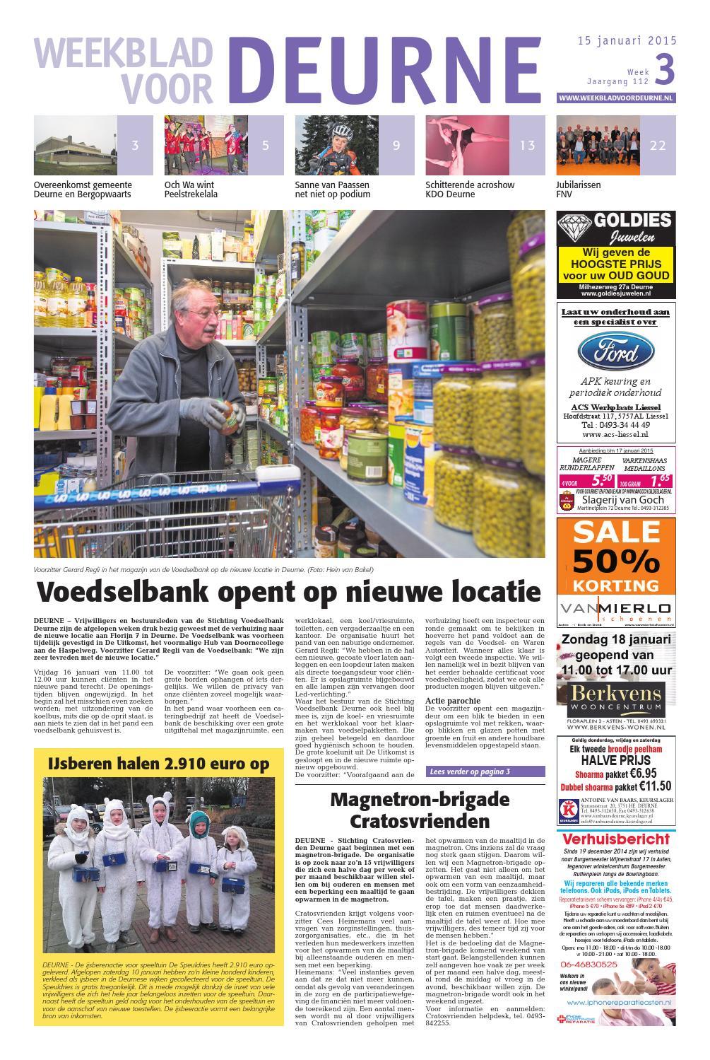 weekblad voor deurne wk03 by das publishers   issuu