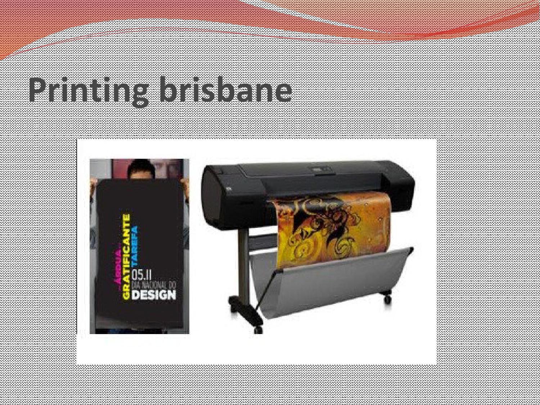 D Printing Exhibition Brisbane : Printing brisbane by eprintonline issuu