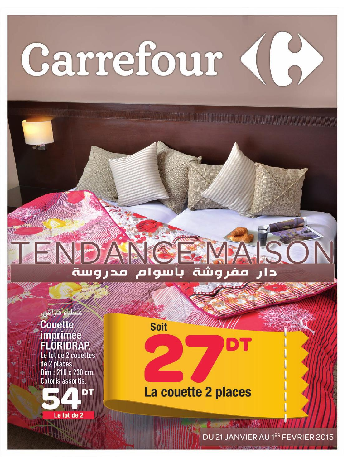 catalogue carrefour tendance maison by carrefour tunisie issuu. Black Bedroom Furniture Sets. Home Design Ideas