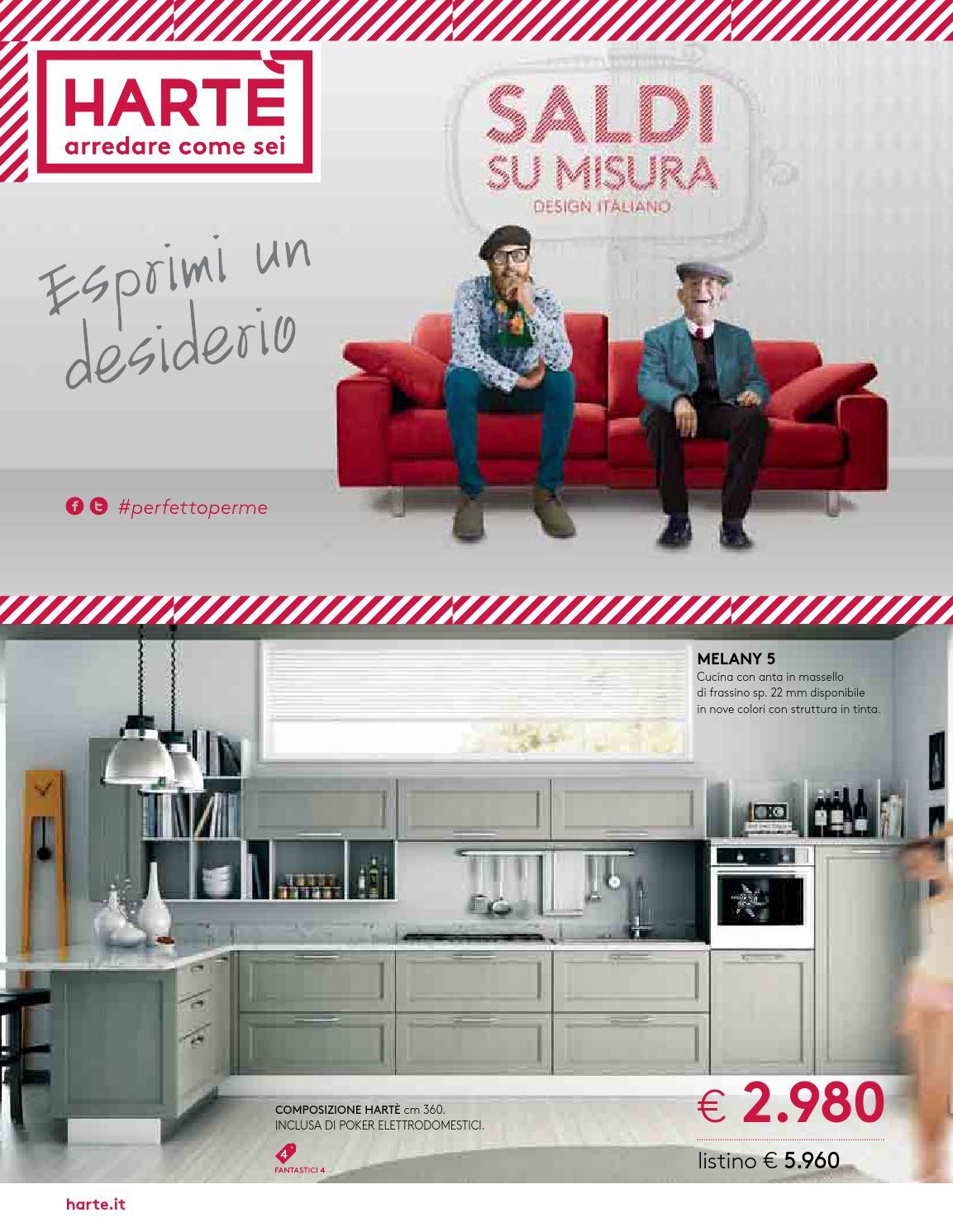 Harte saldi 2015 by mobilpro issuu for Harte arredamenti