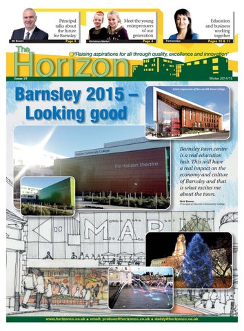 Front Cover Image for Horizon News - January 2015