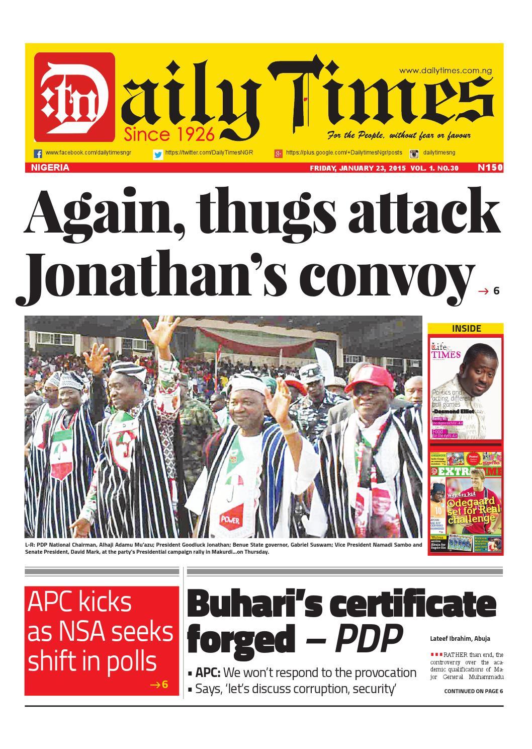 Daily Times Of Nigeria By Daily Times Of Nigeria Issuu   Autos Post