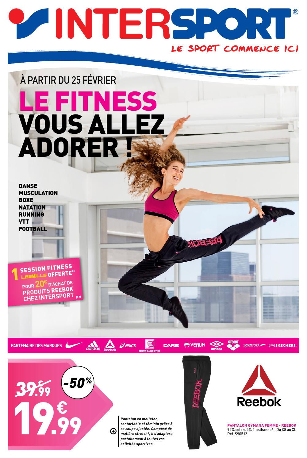 Le fitness vous aller adorer intersport by