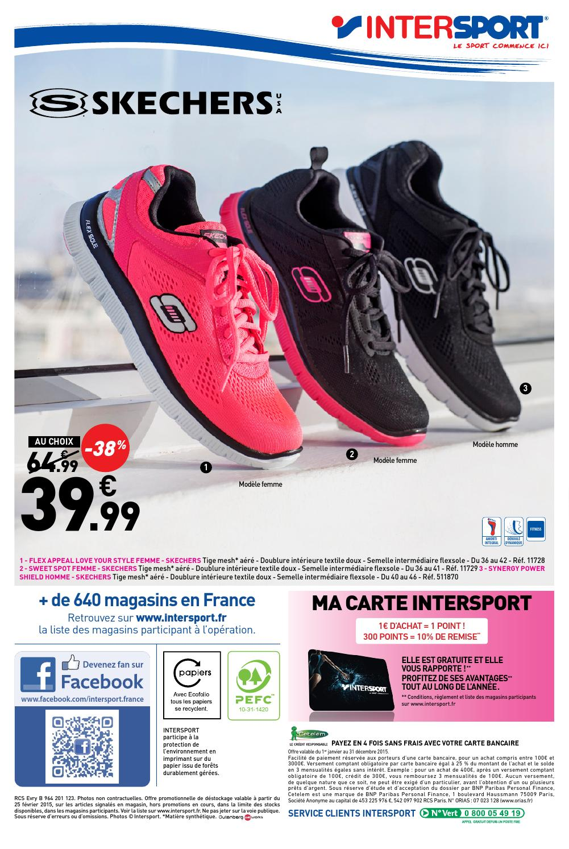 Skechers Femme Intersport