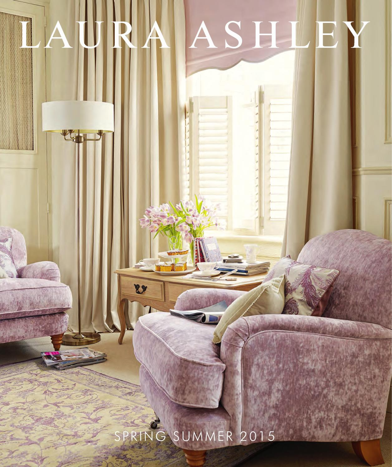 Laura ashley spring summer 2015 catalogue by stanislav for X furniture catalogue
