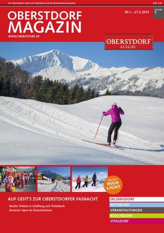 Oberstdorf Magazin 02/2015