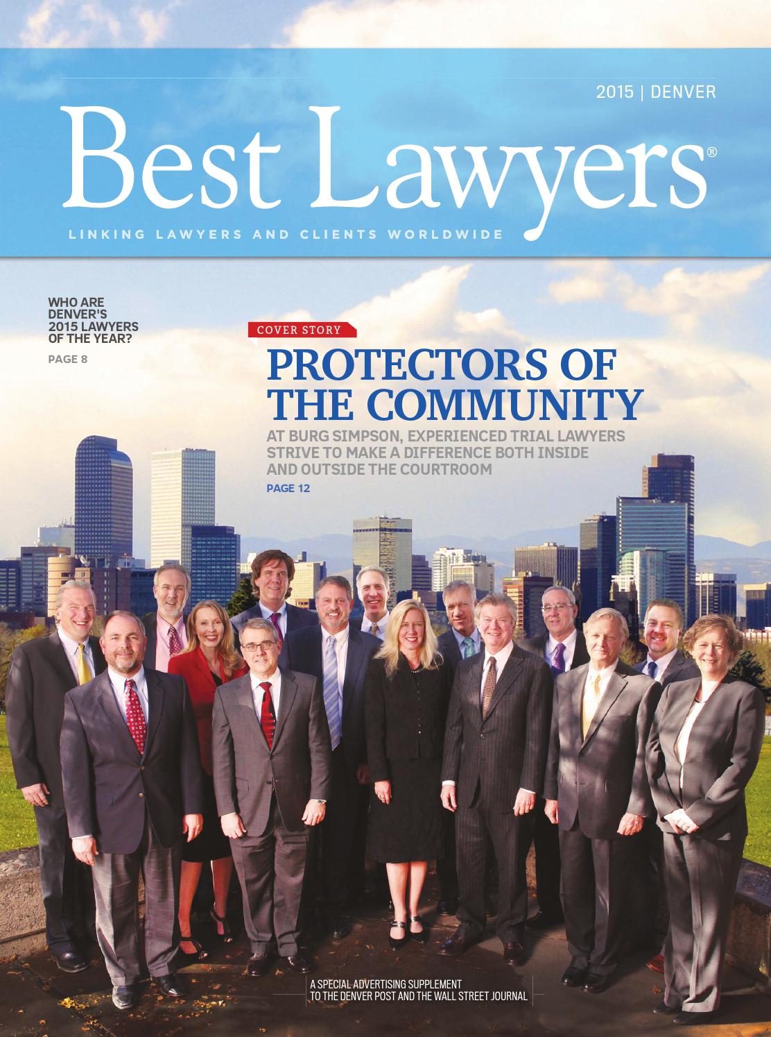 Best Lawyers In Denver 2015 By Best Lawyers Issuu