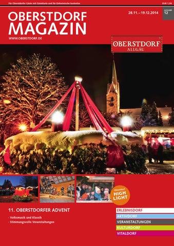 Oberstdorf Magazin 12/2014