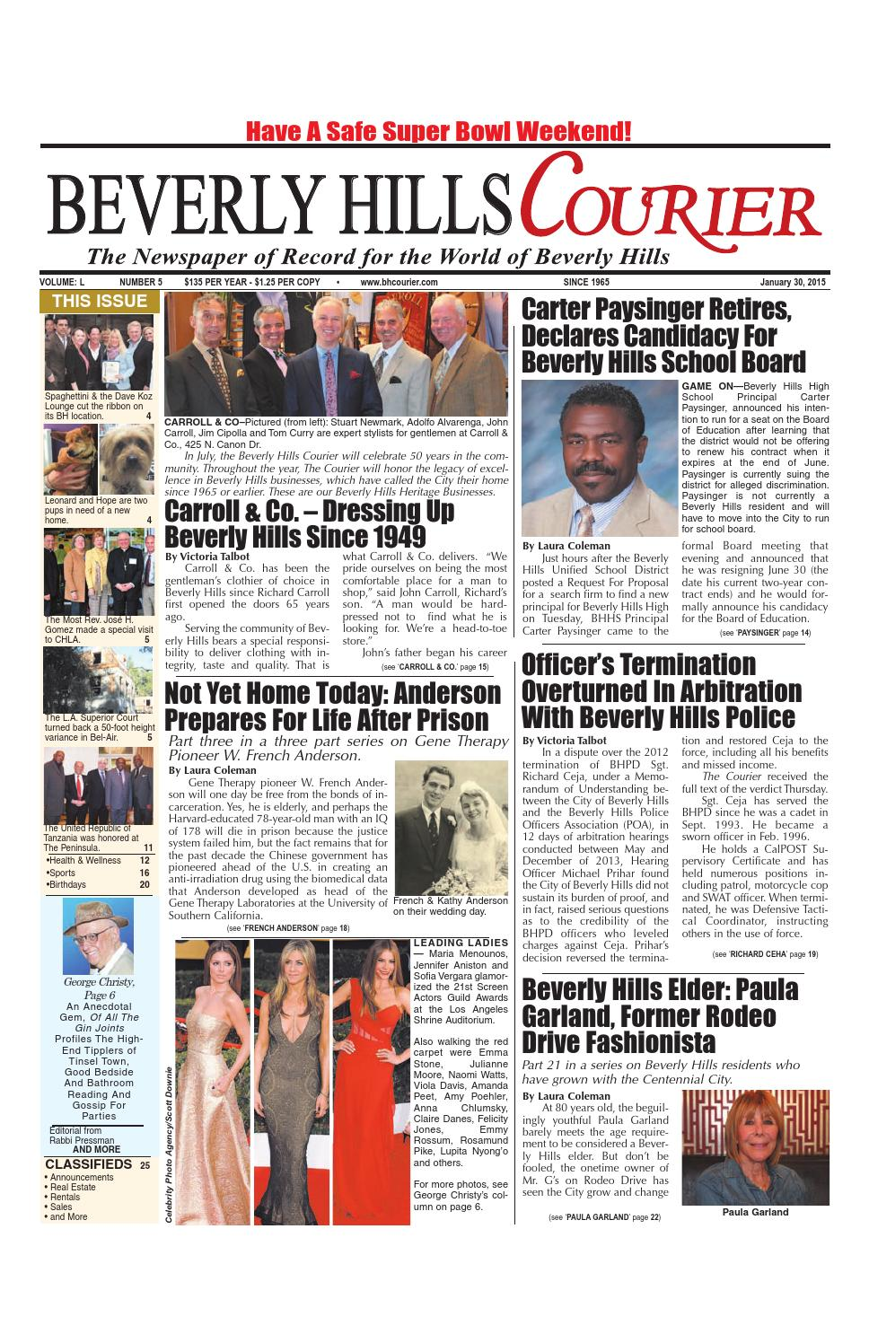 bhcourier e edition by the beverly hills courier issuu