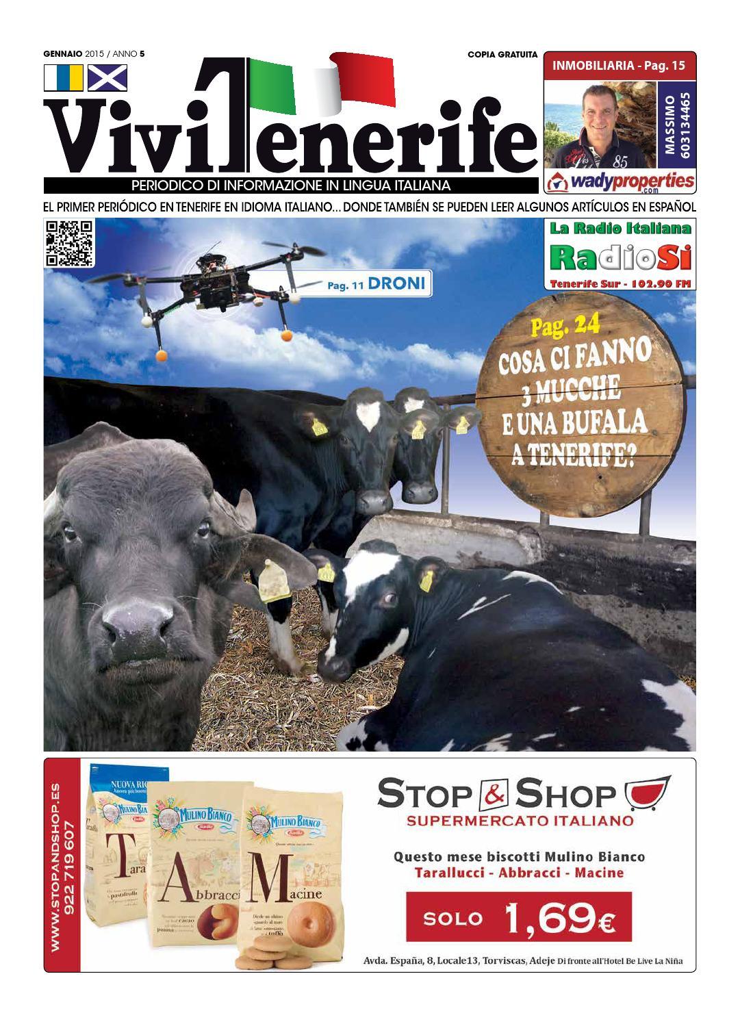 Periodico Vivi Tenerife GIUGNO 2015 by Periodico Italiano ...
