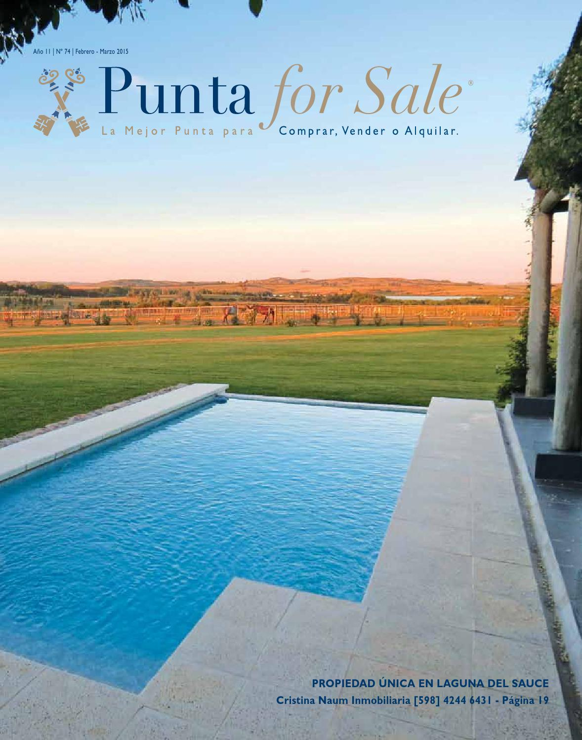 Revista de Real Estate Punta For Sale, edición Febrero - Marzo 2015