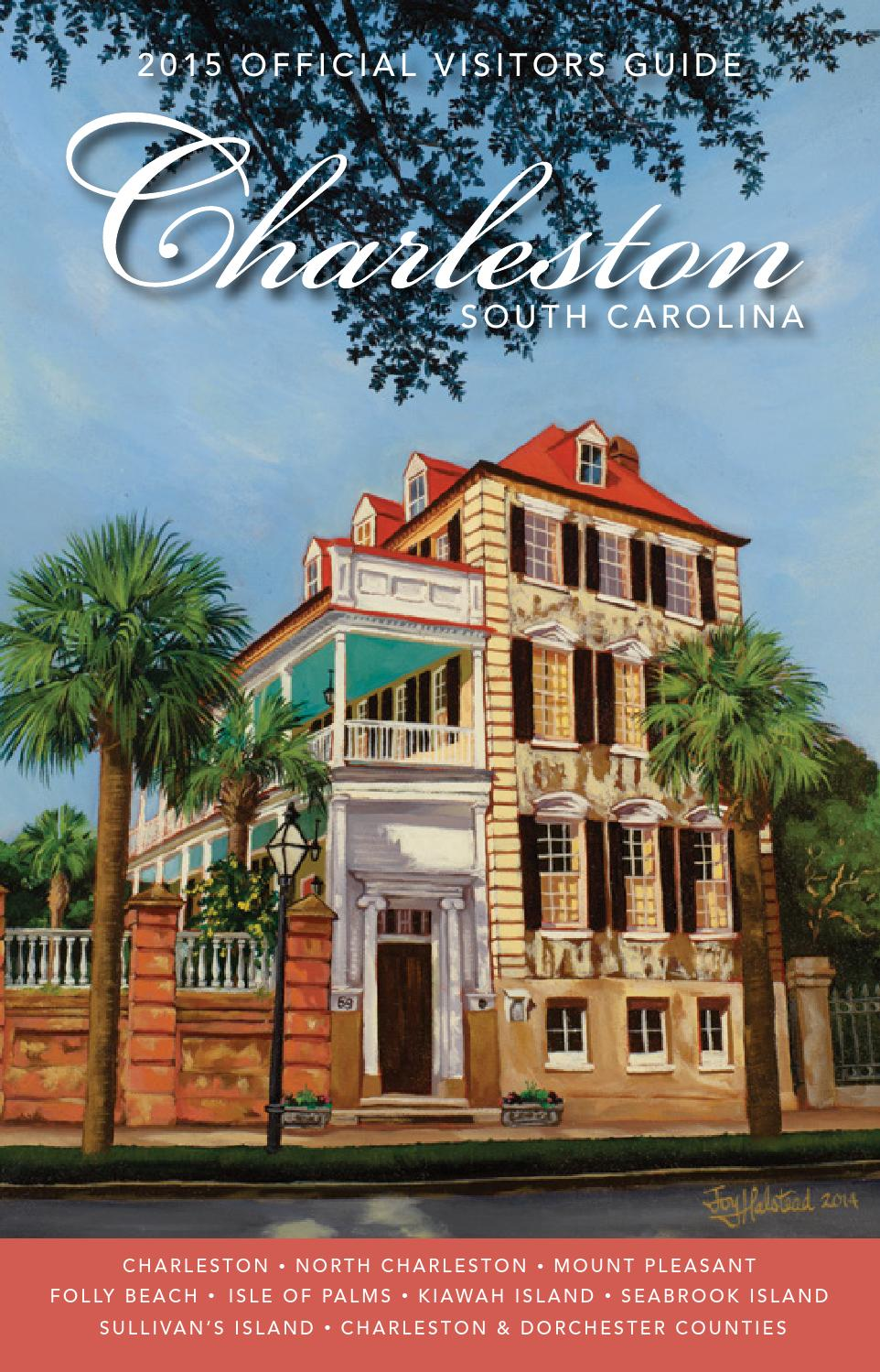 official charleston area south carolina visitors guide by explore charleston issuu. Black Bedroom Furniture Sets. Home Design Ideas