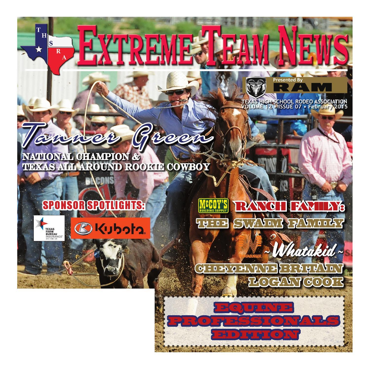 Issuu February 2015 Extreme Team News Texas High School