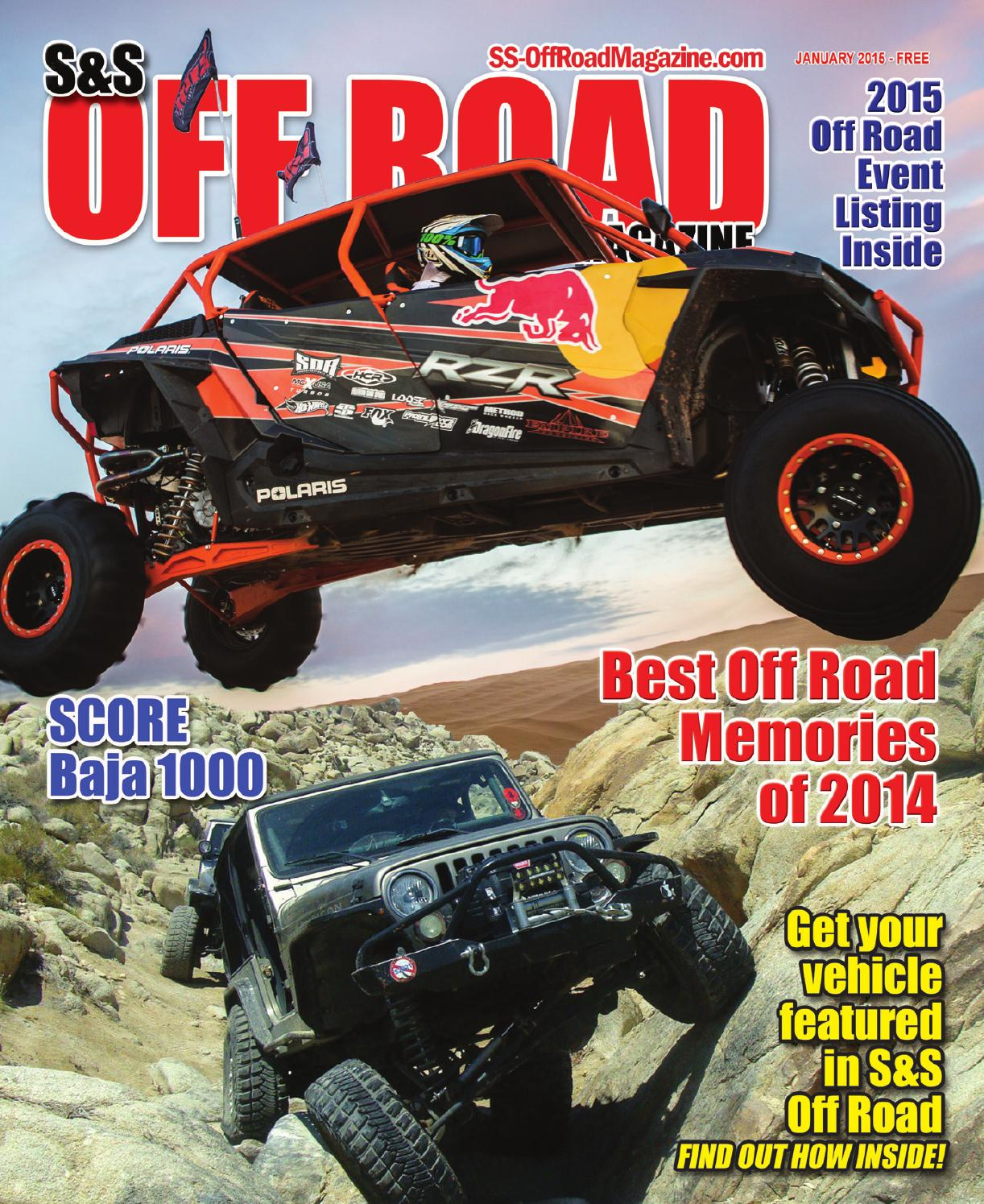 s s off road magazine january 2015 by s s off road magazine issuu. Black Bedroom Furniture Sets. Home Design Ideas