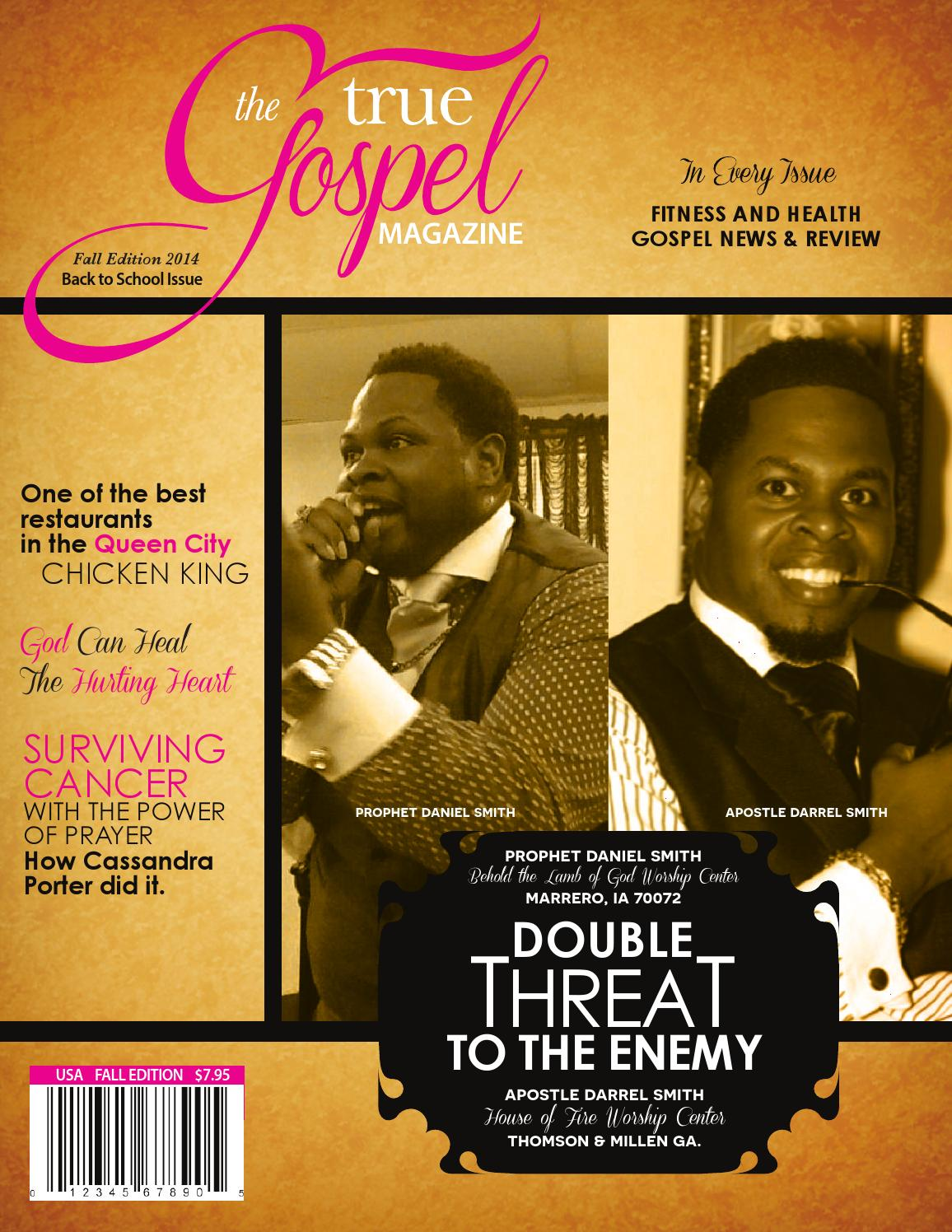 true gospel magazine edition by stacey bowers issuu