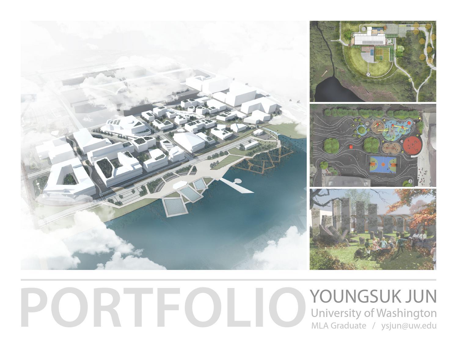 landscape architecture portfolio 2015 youngsuk jun by