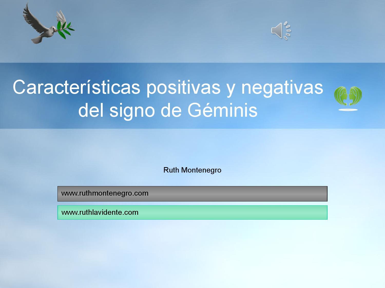 Caracter sticas positivas y negativas del signo de g minis - Energias positivas y negativas ...
