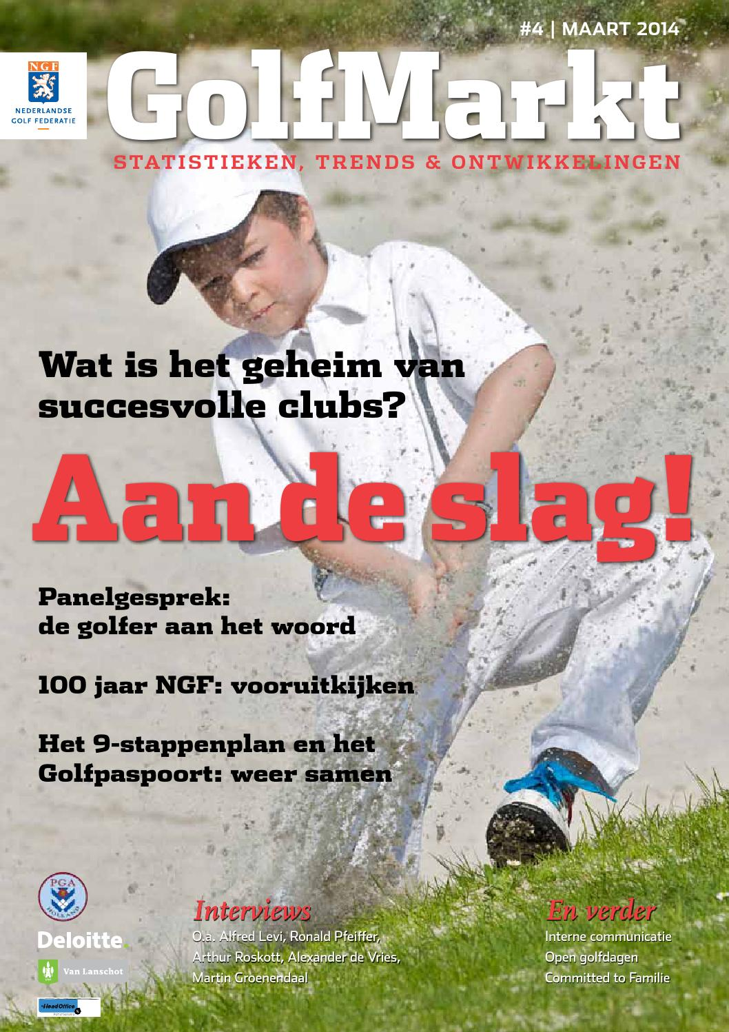 Ngf jaarverslag 2014 by koninklijke nederlandse golf federatie   issuu