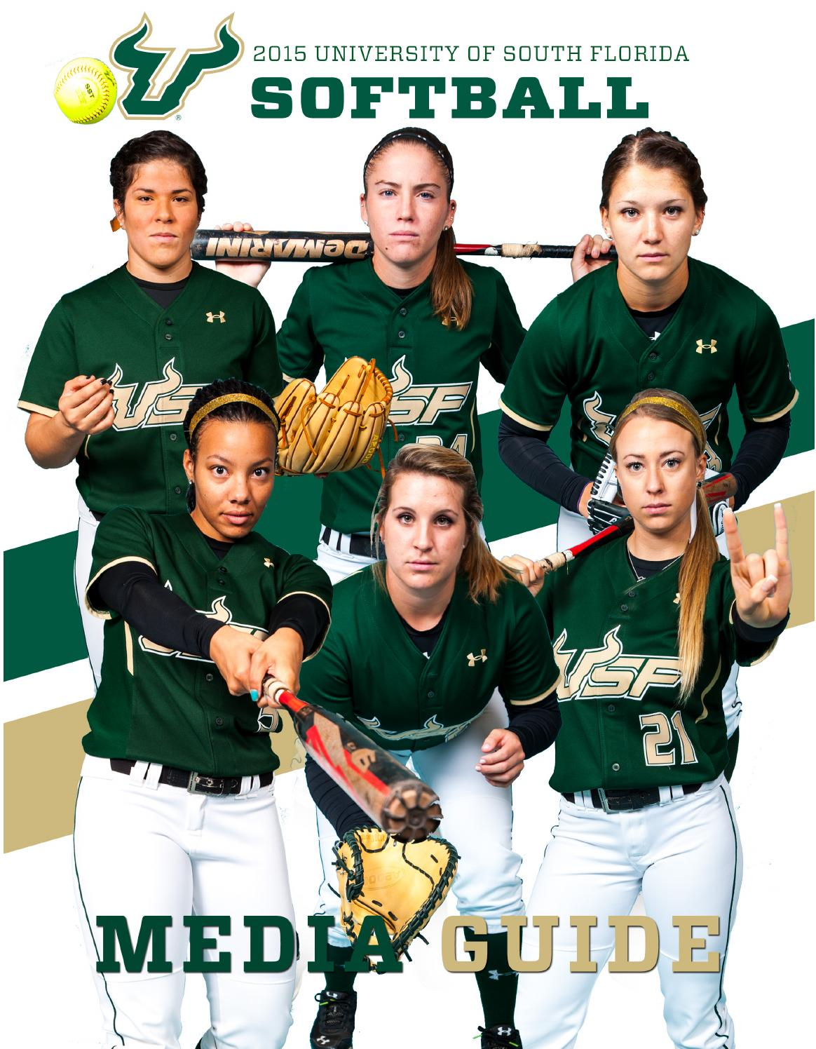 2016 usf softball media guide by usf bulls