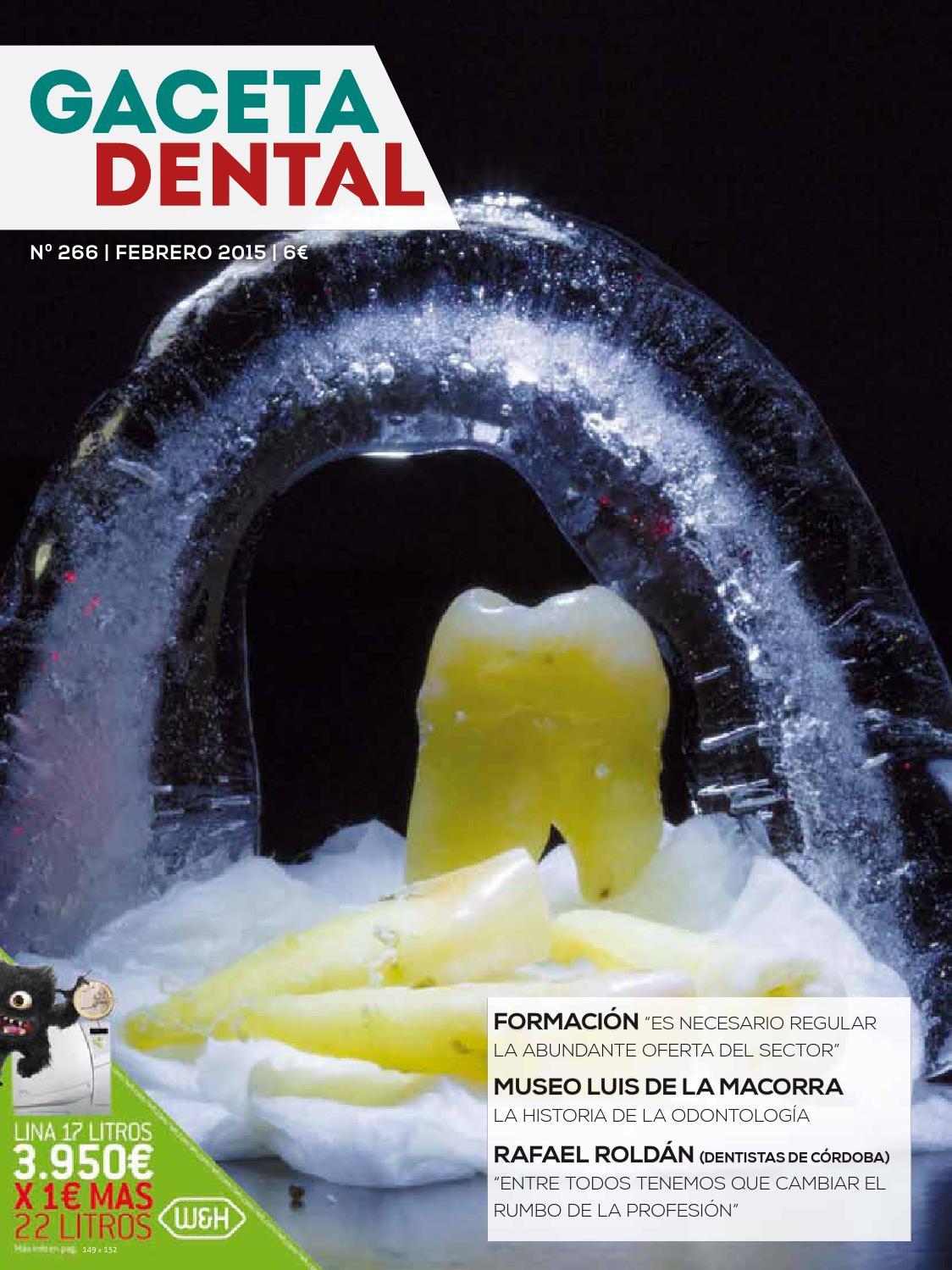 gaceta dental 266 by pelda241o issuu