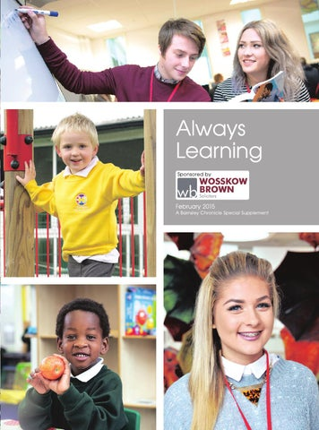 Front Cover Image for Always Learning [Supplement] - 13 February 2015