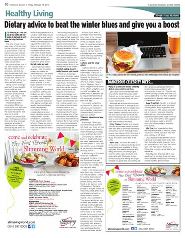 Front Cover Image for Healthy Living [Feature] - 13 February 2015