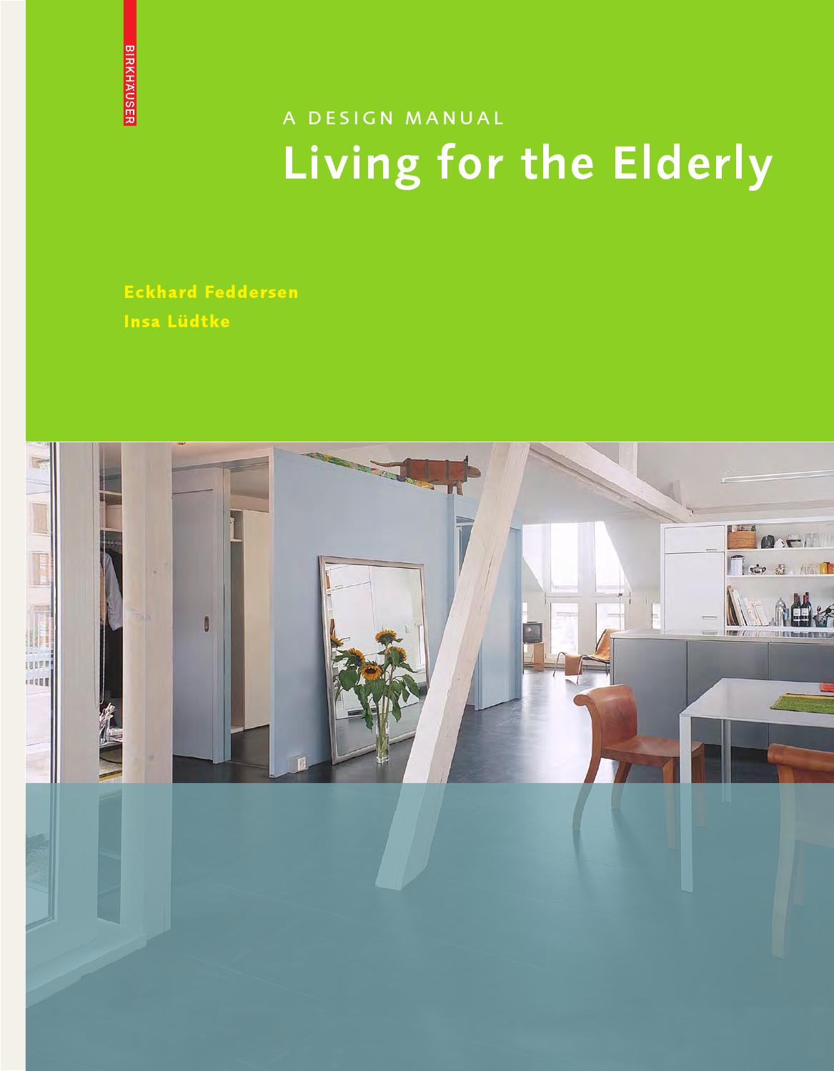 Living For The Elderly By Birkhäuser