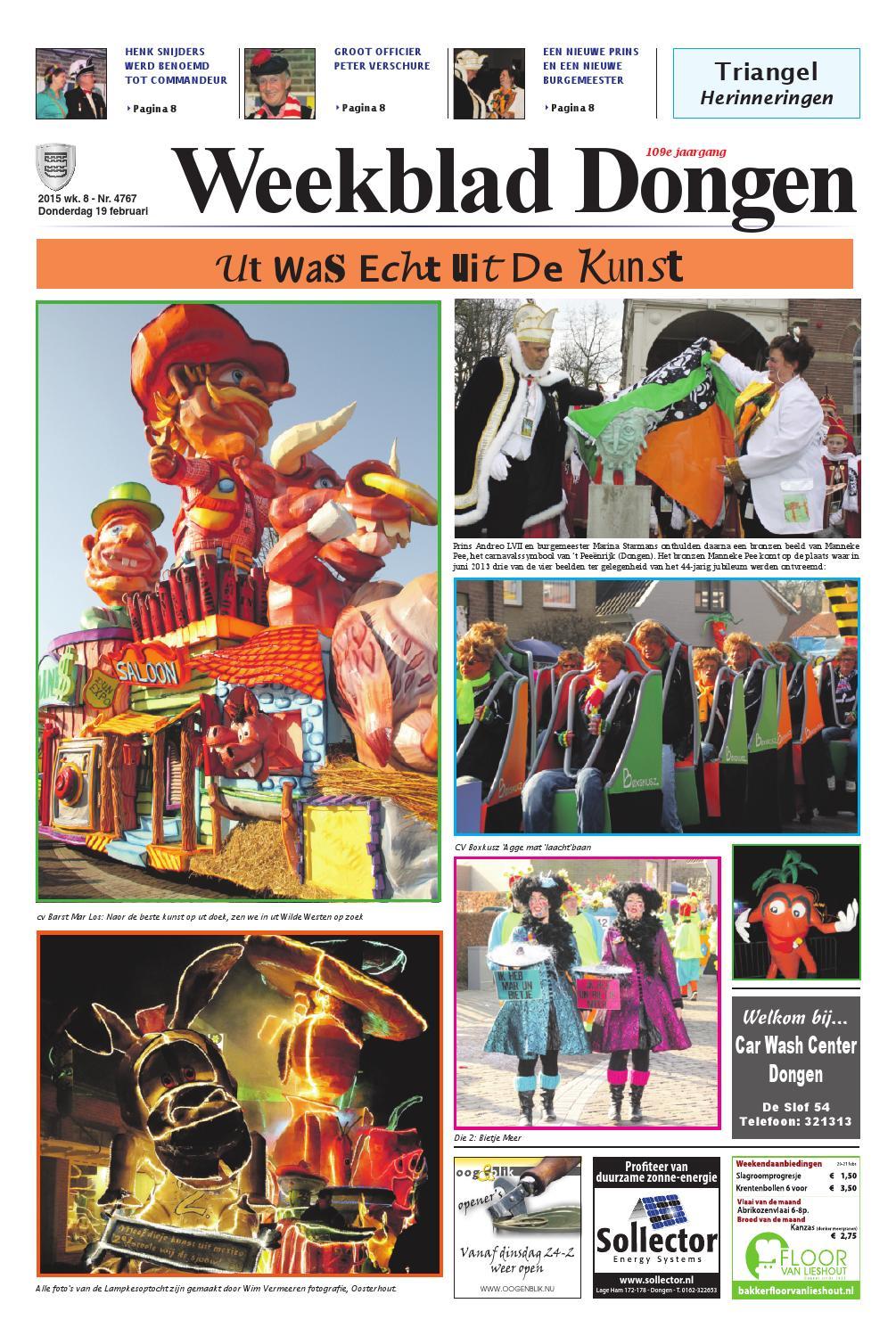 weekblad dongen 19-02-2015 by uitgeverij em de jong