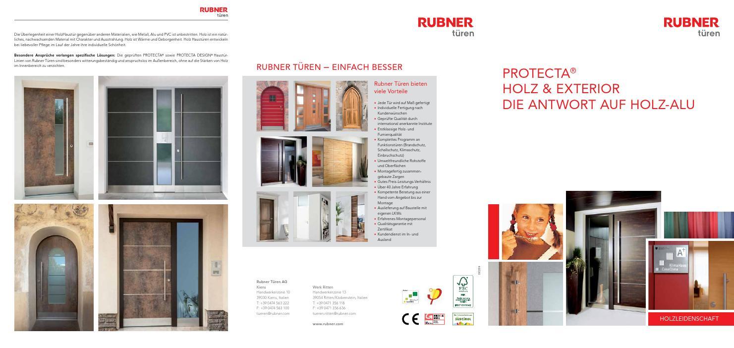 rubner t ren protecta by zeppelin group issuu. Black Bedroom Furniture Sets. Home Design Ideas