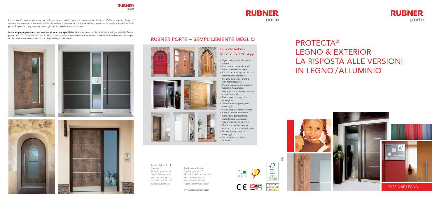 Rubner porte protecta by zeppelin group issuu for Rubner porte