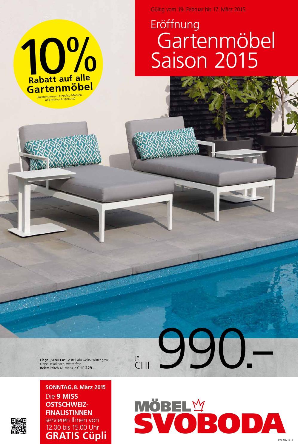 er ffnung gartem belsaison 2015 by m bel svoboda issuu. Black Bedroom Furniture Sets. Home Design Ideas