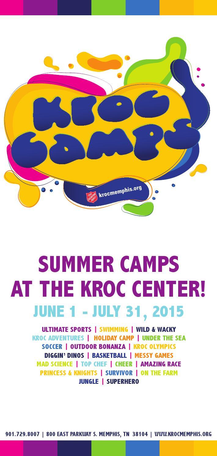 2015 Summercampsprogramguide By Kroc Memphis Issuu