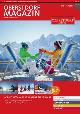 Oberstdorf Magazin 03/2015