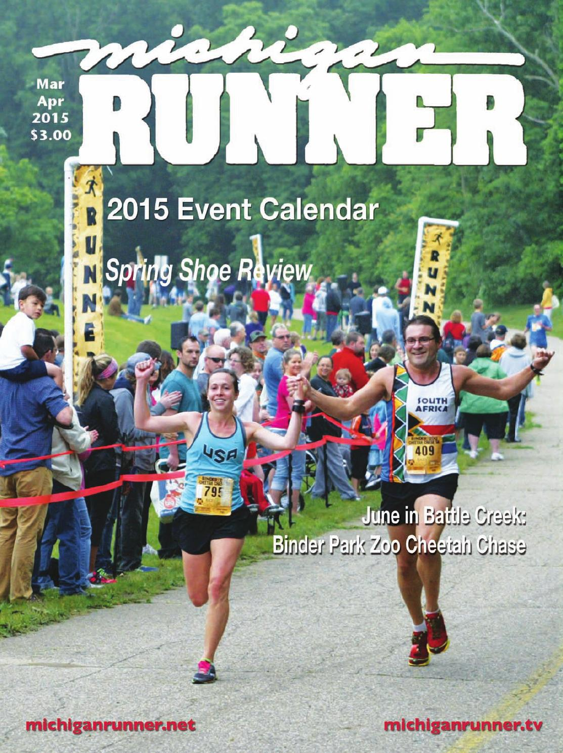 Michigan Runner March April 2015 By Great Lakes Sports