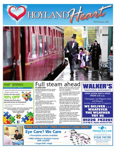 Front Cover Image for Hoyland Heart - 27 February 2015