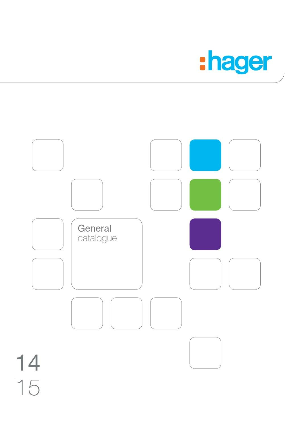 hager general catalogue 2014 2015 by issuu